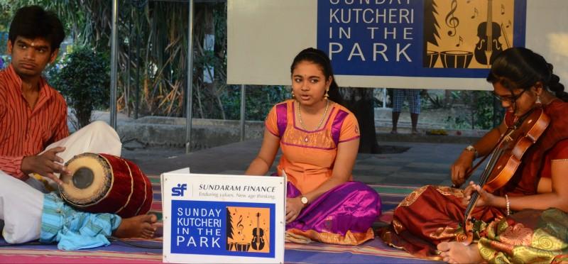 Sundaram finance- kutcheri in the park