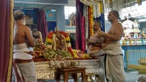 Vedanta Desikar Temple - special pooja