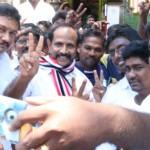 AIADMK candidate Natraj hits campaign trail