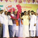 BJP hosts election meeting at Mangollai, Rajnath Singh attends