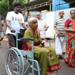 Slow start to polling at Mylapore booths