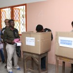 Final touches to poll booths; postal ballot process on today