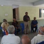 AIADMK candidate Natraj meets residents of Mandaveli