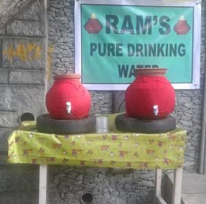 Water pots R. A. Puram