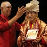 Music guru Chitravina Narasimhan crowned 'Pallavi Chakravarthy'
