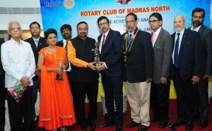 MT  SWAMY ROTARY AWARD