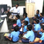 Compter Lab at local middle school funded by Mylapore Times Trust; seeks more donors