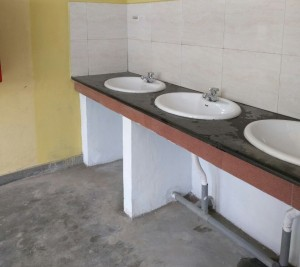 Vidya Mandir - primary toilets renovated