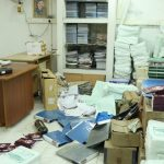 Office of vice chancellor of TN Music and Fine Arts University vandalized