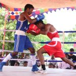 Boxing matches held at Corporation playground in R. A. Puram