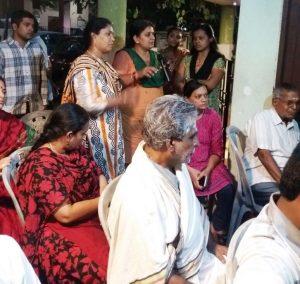 Raja street police meet - 1