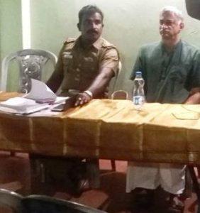 Raja street police meet - 2