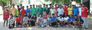 Vidya Mandir - tennis ball cricket tournament