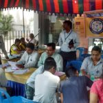 Open a zero balance bank account; Camp on at Indian Bank till this weekend
