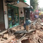 South Mada Street is a mess as work on new sidewalks drags on