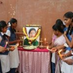 Schools pay tribute to Jayalalithaa, after re-opening