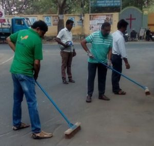 Jeth Nagar cleaning campaign
