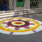 Bhogi Pongal; Kolams at Alwarpet