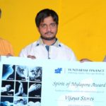 Owners of Vijaya Stores decorated with ' Spirit of Mylapore' award
