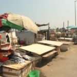 Oil spill in sea affects business at San Thome roadside fish market