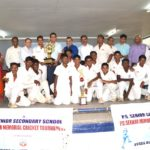P. C. Sekhar cricket tourney trophy presented to winners, St. Bede's