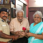 Police show their softer side : wish an old couple on Valentine's Day