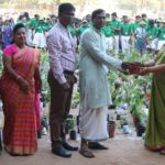 Chettinad Vidyashram students donate saplings to NGO