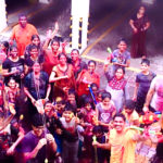 Residents of local apartment complex celebrate holi