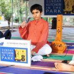 Mikeless kutcheri held at Nageswara Rao Park, Luz