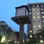 Clock in Mandavelipakkam park stops functioning