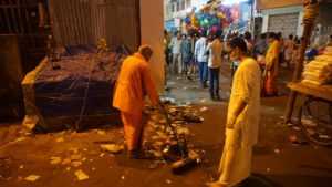 Ramakrishna math - cleaning