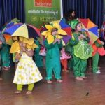 Dance, mime and theatre performances: At local preschool's annual day