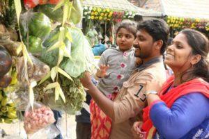 Vishu at Iyappan temple