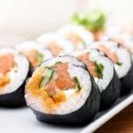 Workshops: sushi making and writing