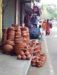 clay pots on rkmutt road