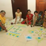 Kolam camp held at Alwarpet