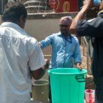 NAC Jewellers distributes buttermilk during summer