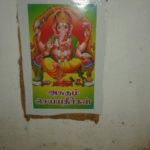 Jeth Nagar residents post pictures of deities on walls to discourage garbage dumping
