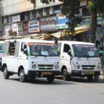 Bus staff strike: office-goers depend on share autos, vans