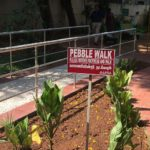 Pebble Walk created at Corporation park in R. A. Puram