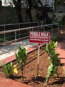 Pebble walk