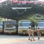 Bus strike: Very few buses on the road in the neighbourhood