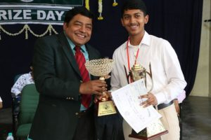 Prize day at vidya mandir