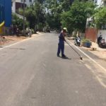 A campaign to ensure cleaner roads takes off at R. A. Puram