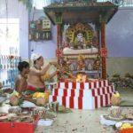 Vinayaka Chaturthi celebrations at local temples..