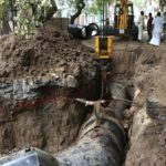 V. C. Garden Street mess: contractor asked to clear street of mud but work has not begun yet