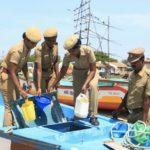 Security readiness drill on Marina
