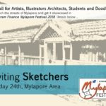 Mylapore Festival 2018: second sketching event this Sunday morning