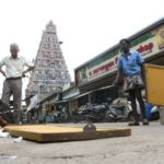 Dividers erected near Sri Kapali Temple to restrict vehicles movement