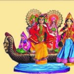 Exhibition and sale of golu dolls